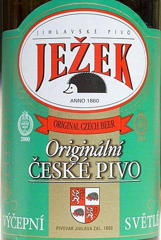 Czech beer from Iglava, Iglau, Moravia, Czech Republic