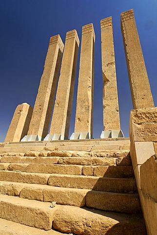 Almaqah Temple, Arsh Bilqis, of Marib, Yemen