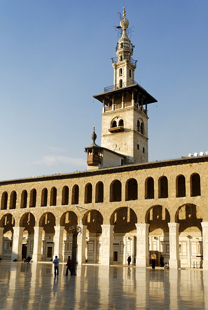 Umayyad Mosque at Damascus, Syria