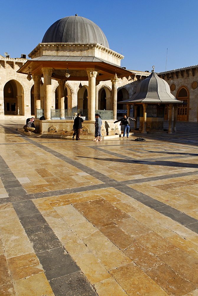 Umayyad Mosque at Aleppo, Syria