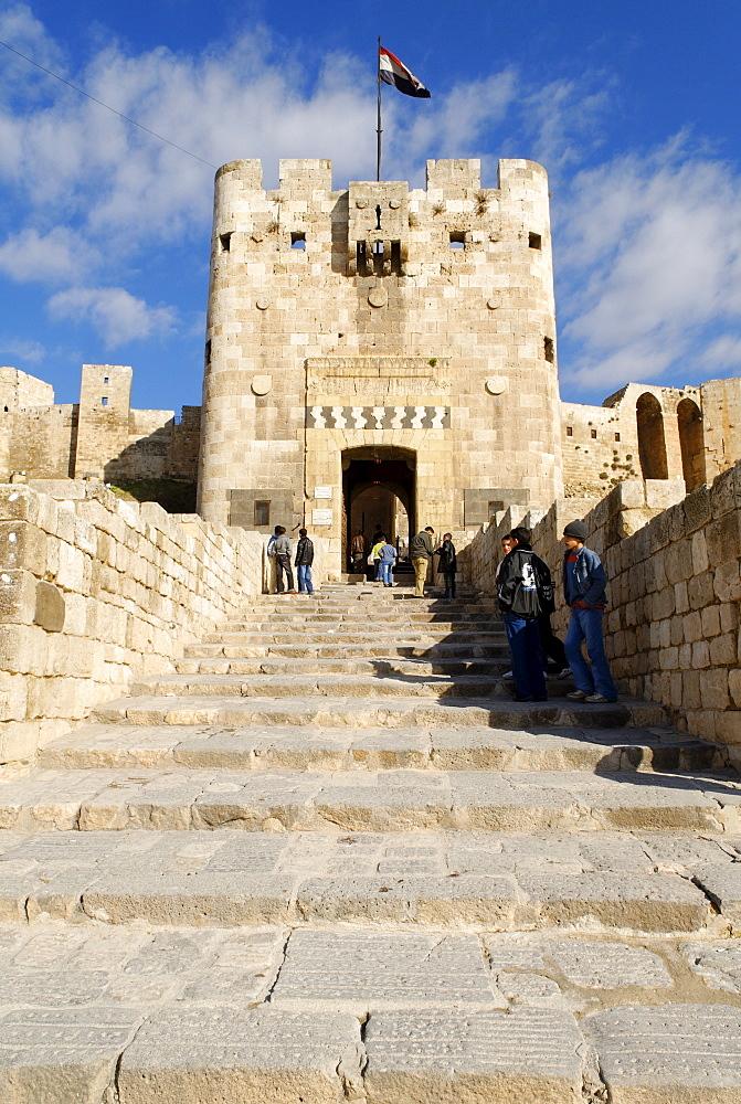 Citadelle of Aleppo, Syria