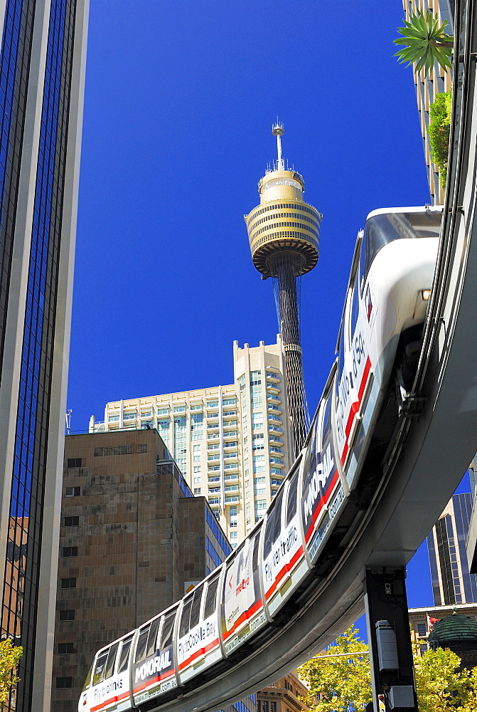 Monorail, Sydney Tower, Sydney, New South Wales, Australia