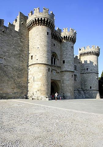 Grandmaster palace in rhodes, Greece, Europe