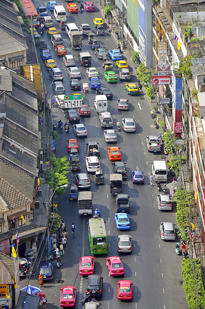 Traffic jam, Bangkok, Thailand, Southeast Asia