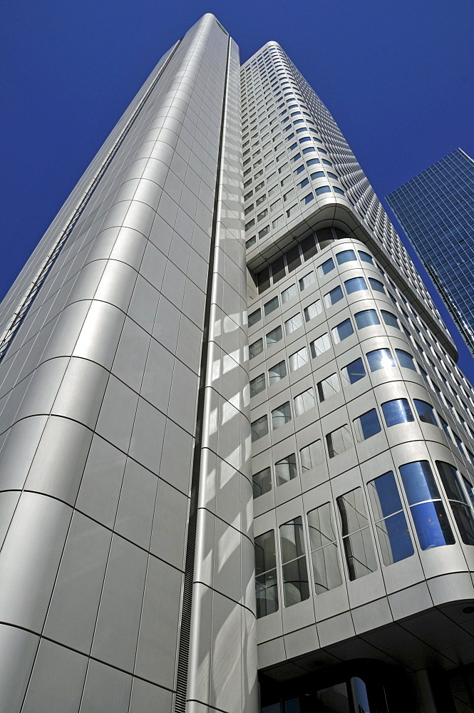 High-rise building of the Dresdner Bank, Frankfurt, Hesse, Germany, Europe