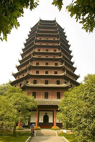 Six Harmony Pagoda, Hangzhou, Zhejiang, China, Asia