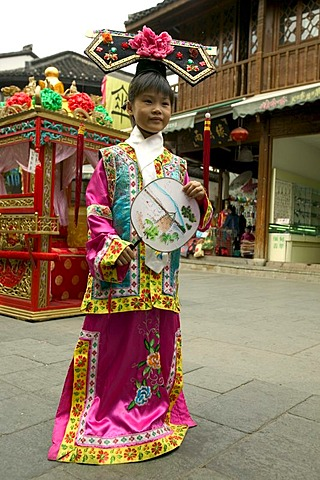 In Quinghefang street, Hangzhou, Zhejiang, China, Asia