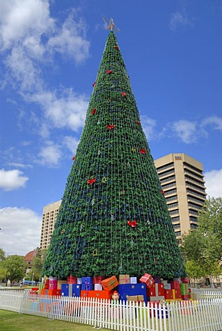 Christmas tree, christmas decoration, Adelaide, South Australia, Australia