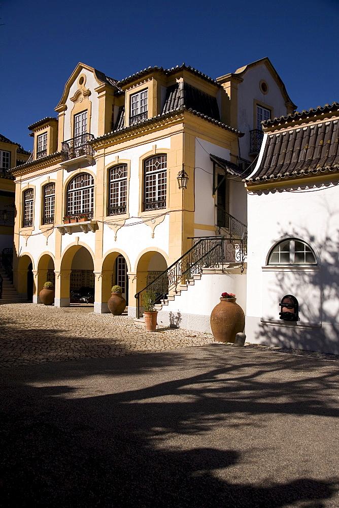 Bodega Jose Maria Fonseca, now a Winery Museum, Vila Nogueira de Azeitao, Setúbal, Portugal, Europe