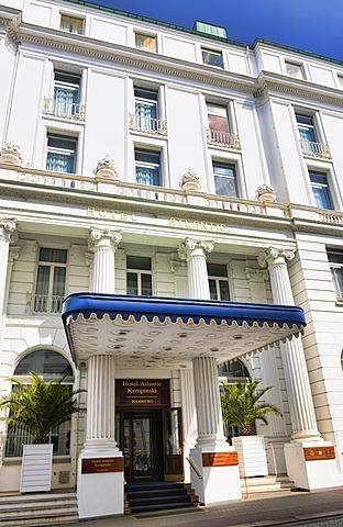 Atlantic Kempinski Hotel in St. Georg, Hamburg, Germany, Europe