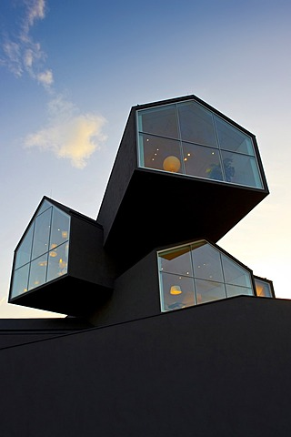 Vitra Haus building, Vitra Design Museum, architects Herzog & de Meuron, Weil am Rhein, Baden-Wuerttemberg, Germany, Europe