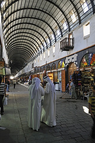 Souk, bazar of Damascus, Unesco World Heritage Site, Syria, Middle East, West Asia