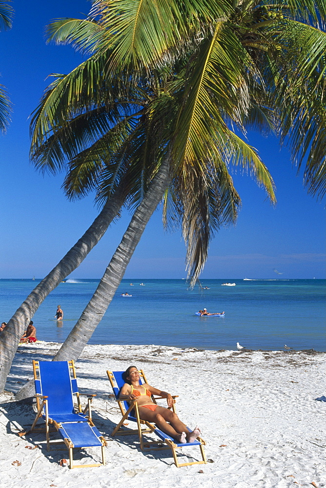 Smathers Beach, Key West, Florida Keys, Florida, USA