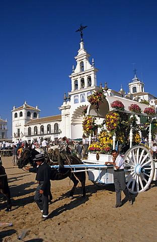 El Rocío Romería pilgrimage Fiesta - Costa de la Luz Andalusia Province Huelva Spain