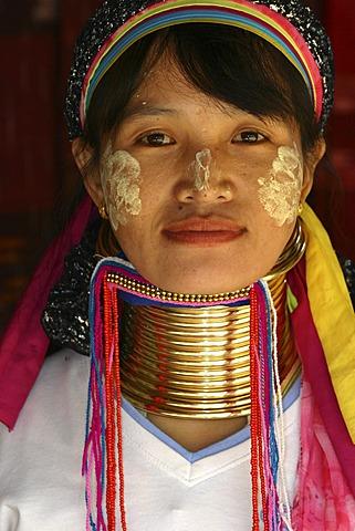 Woman, Karen, Mae Hong Son, Thailand