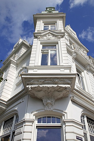 Historic Strandhotel Blankenese, built in 1902, in Strandweg street, Hamburg's Blankenese quarter on the Elbe river, Altona district, suburb on the Elbe river, Hamburg, Germany, Europe, PublicGround