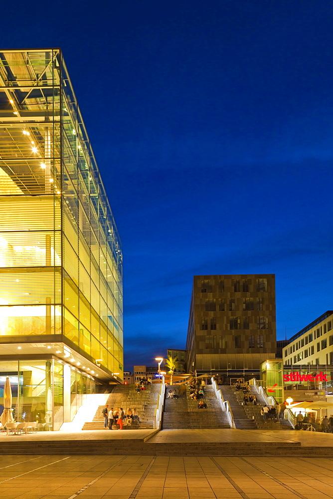 Art Museum, Schlossplatz square, Stuttgart, Baden-Wuerttemberg, Germany, Europe