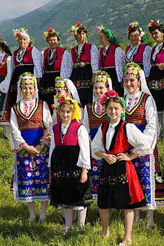 Folklore Group, Rose Festival, Karlovo, Bulgaria, Europe