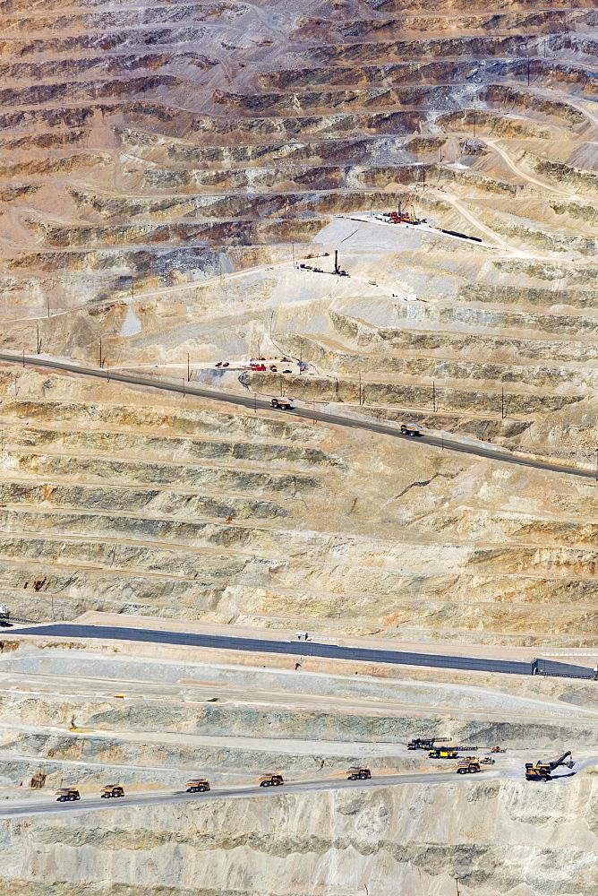 Kennecott Utah Copper's Bingham Canyon copper mine, Salt Lake City, Utah, USA, North America