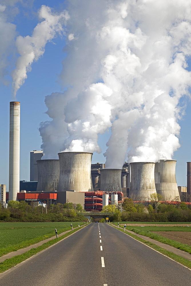 RWE lignite power plant, Niederaussem, Bergheim, Rhineland, North Rhine-Westphalia, Germany, Europe