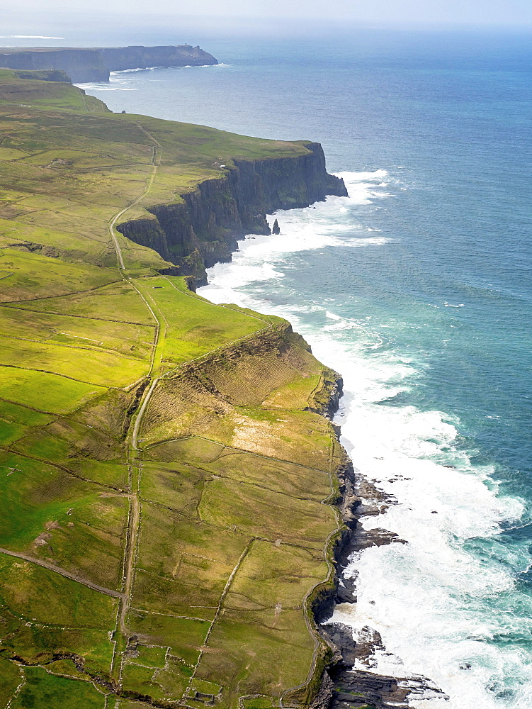 Cliffs of Moher, rocky coastline, County Clare, Ireland, Europe