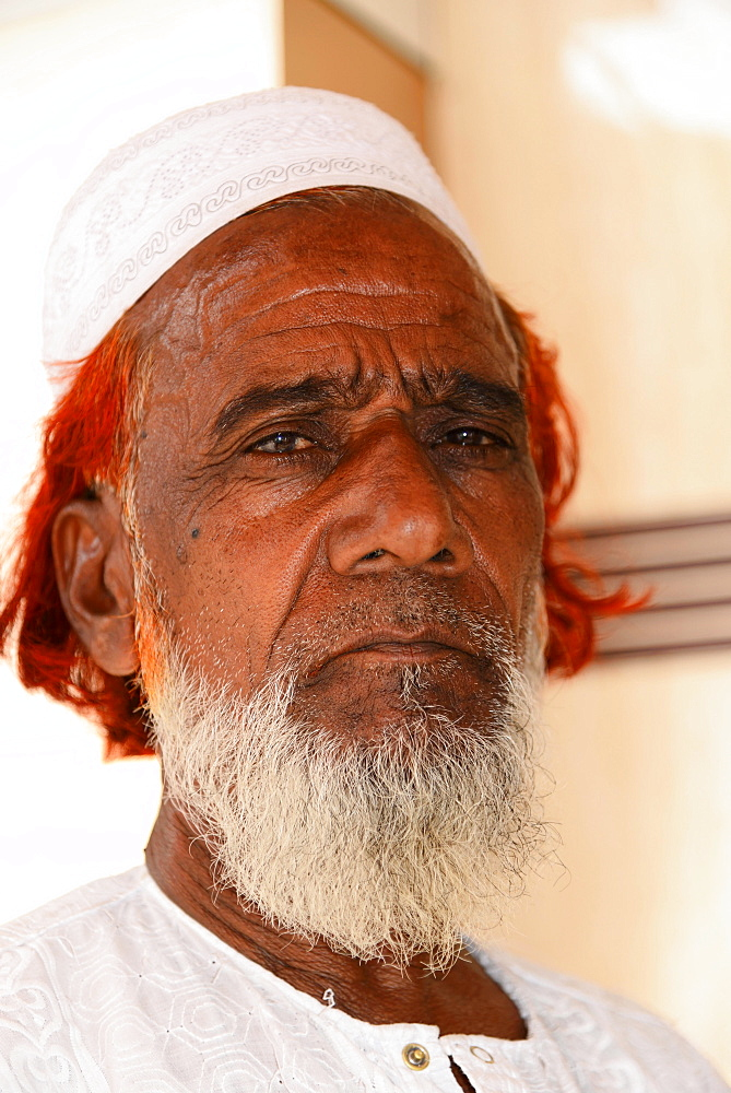 Mature Indian man, portrait, Mumbai, Maharashtra, India, Asia