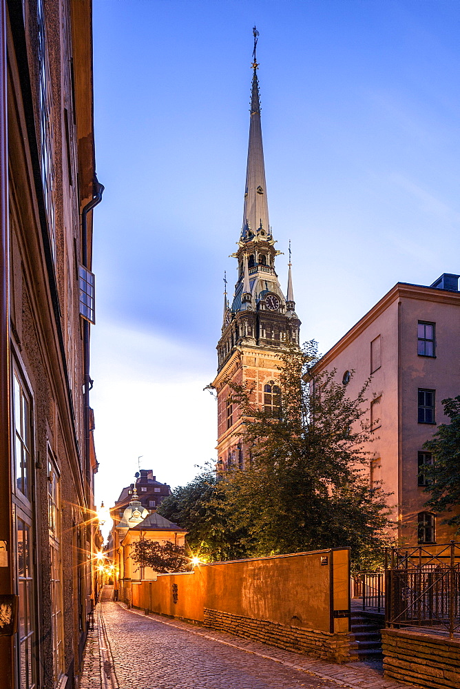 German Church or St. Gertrude's Church, Tyska kyrkan, historic centre, Gamla Stan, Stockholm, Stockholm County, Sweden, Europe
