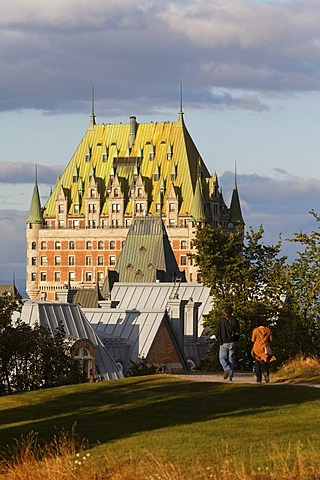 Chateau Frontenac, Quebec City, UNESCO World Heritage Site, Quebec, Canada