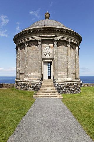 Mussenden Temple, Downhill Estate, County Derry, Northern Ireland, Great Britain, Europe