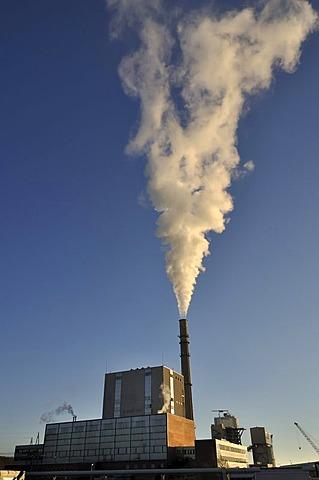 Coal-fired power plant, Kiel, Schleswig-Holstein, Germany, Europe