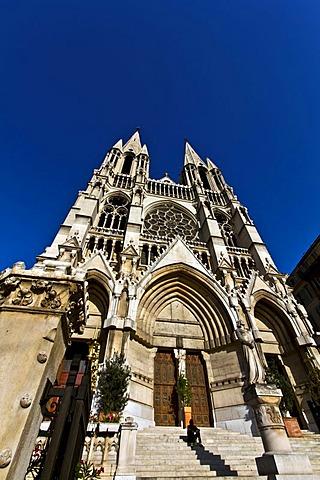 eglise Saint-Vincent-de-Paul, also eglise des Reformes church, Marseille or Marseilles, Provence-Alpes-Cote díAzur, France, Europe