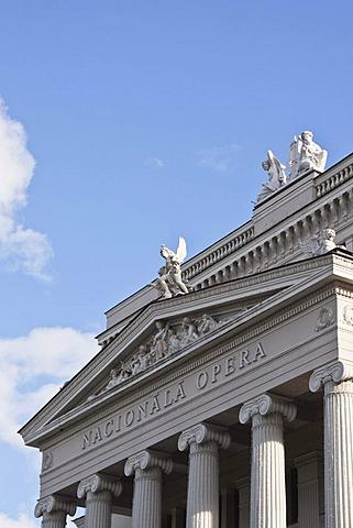 Latvian National Opera, Nacionala Opera, Riga, Latvia, Europe