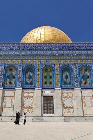 The Dome of the Rock, Temple Mount, east Jerusalem, Israel, Middle East
