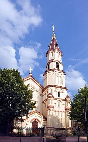 Orthodox St. Nicholas Church, Vilnius, Lithuania, Europe
