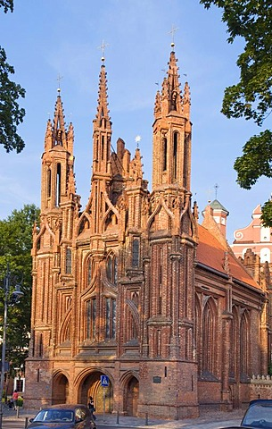 St. Anne's Church, Vilnius, Lithuania, Europe