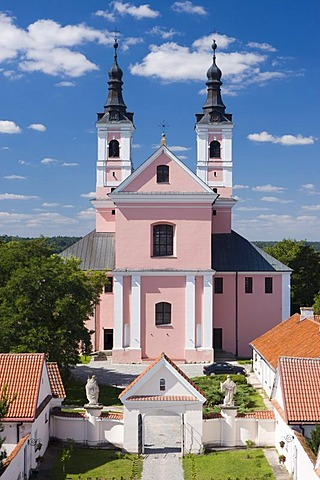 The Immaculate Conception of Mary church, Wigry, Poland, Europe