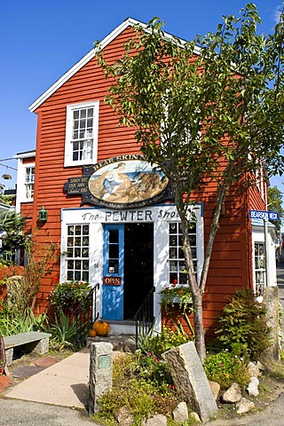 Shop in Rockport, Massachusetts, New England, USA