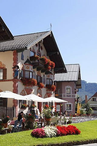 Tourist office in Neubeuern, Inn Valley, Chiemgau region, Upper Bavaria, Bavaria, Germany, Europe, PublicGround
