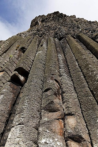 The Organ, organ-pipes, basaltic columns, Giant's Causeway, Causeway Coast, County Antrim, Northern Ireland, United Kingdom, Europe
