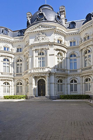 Birthplace of King Albert, Rekenhof, Place Royale, Brussels, Brabant, Belgium, Europe