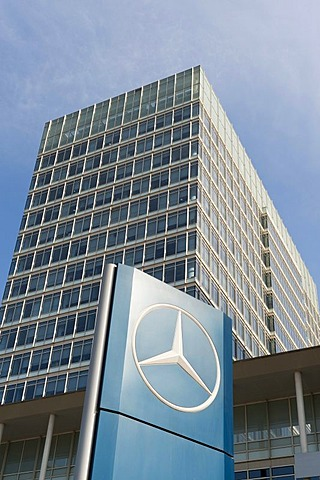 Mercedes Benz building, Lei Shing Hong Plaza, Wangjing Technological District, Beijing, China, Asia
