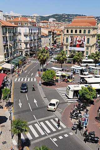 The old town of Cannes, Cote d'Azur, France, Europe