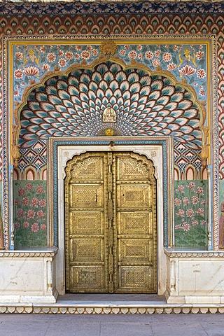 City Palace Jai Singh II, Jaipur, Rajasthan, India, Asia