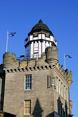 The Outlook Tower and Camera Obscura on the Royal Mile, Edinburgh, Scotland, United Kingdom, Europe