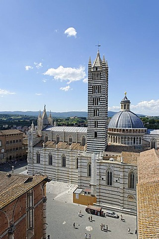 Duomo di Siena, Cattedrale di Santa Maria Assunta cathedral, Siena, Tuscany, Italy, Europe