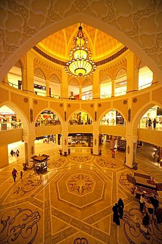 Arab style in the Dubai Mall in Dubai, United Arab Emirates, Middle East, Asia