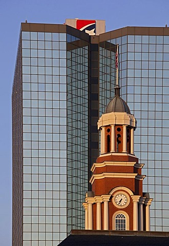 The Howard Baker United States Courthouse and First Tennessee Bank, Knoxville, Tennessee, USA, America