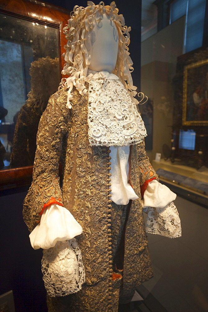 Wedding suit worn by James II in 1673, Victoria and Albert Museum, London, England, United Kingdom, Europe