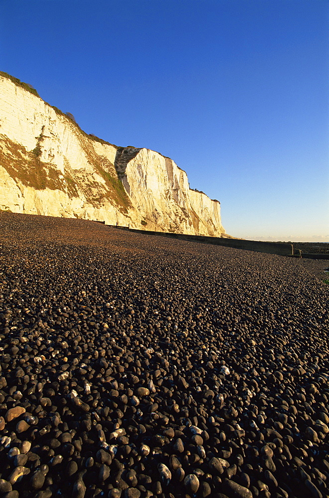 White Cliffs of Dover, St. Margarets Bay, Kent, England, United Kingdom, Europe