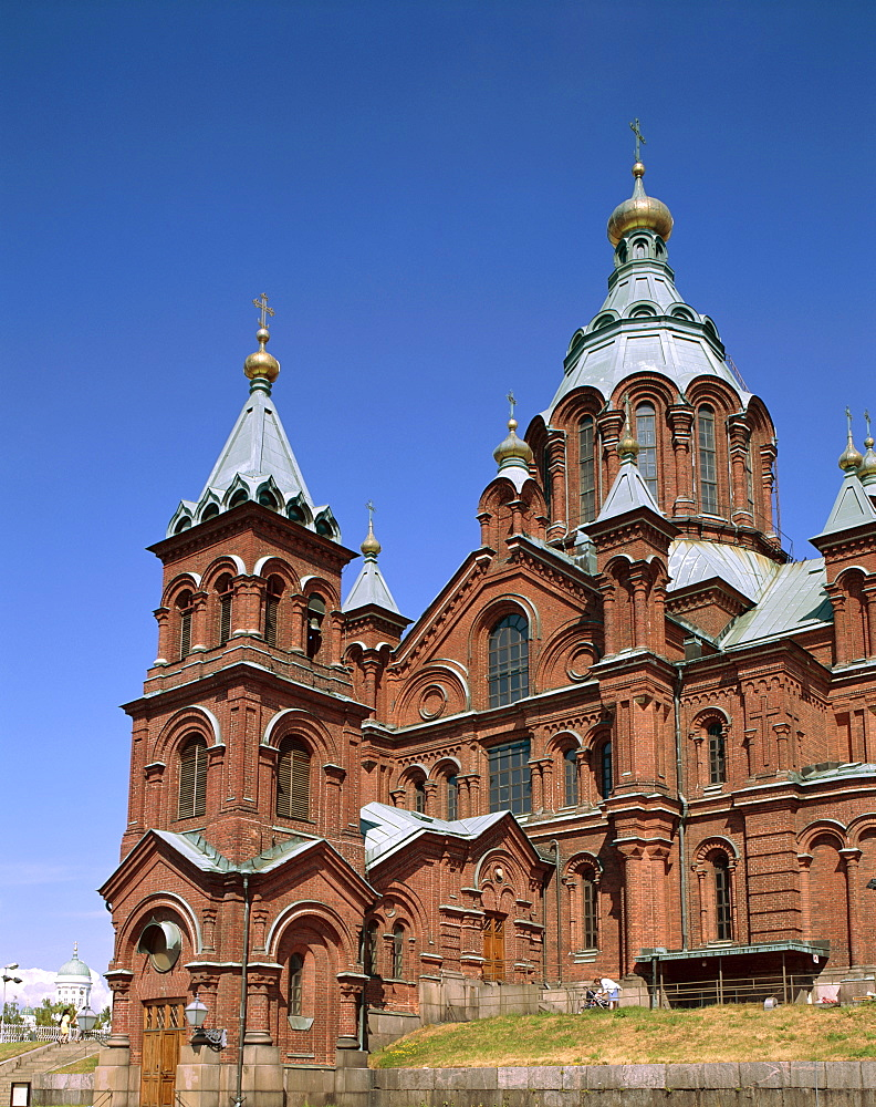 Uspenski Cathedral, Helsinki, Finland, Scandinavia, Europe